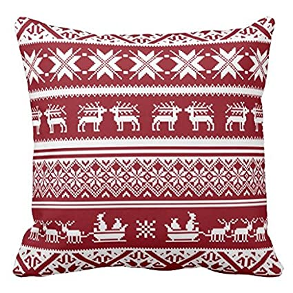 Ugly Christmas Sweaters Patterns.Amazon Com Uqihetk Red And White Ugly Christmas Sweater