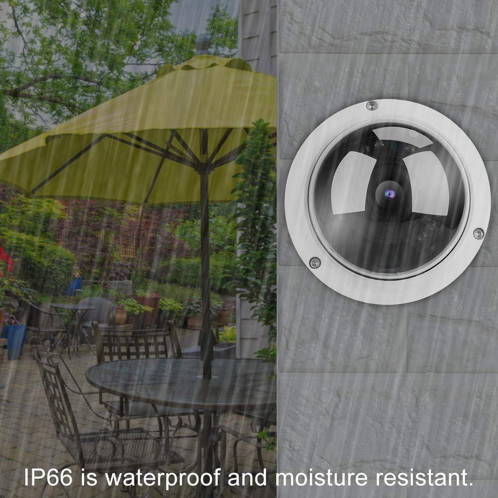 IP66 C/ámara Impermeable Video de Vigilancia HD Compatible con ONVIF Detecci/ón de Movimiento Aplicaci/ón de Alarma IP C/ámara PoE 5MP PoE IP C/ámara de Seguridad
