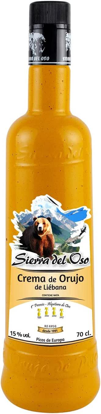 Crema de Orujo Sierra del Oso - 3 botellas de 700 ml: Amazon.es: Alimentación y bebidas