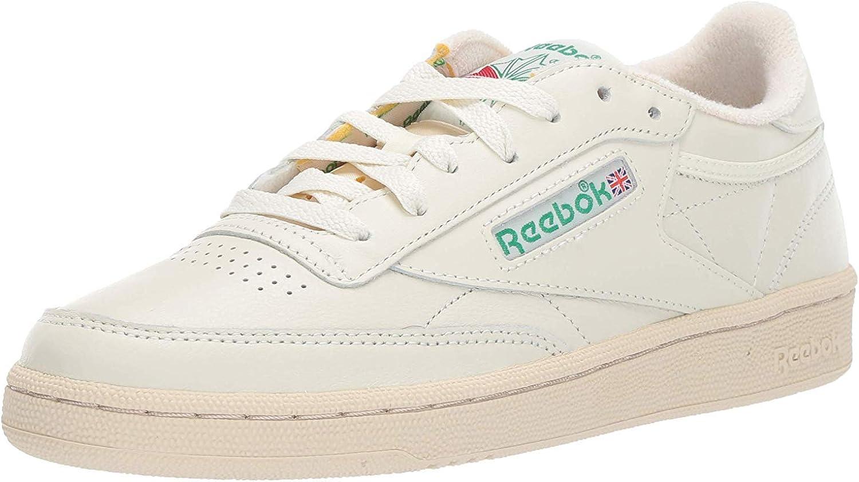 Amazon Com Reebok Women S Club C 85 Vintage Sneakers Walking