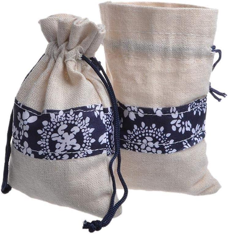 LiangG Bolsas de arpillera de 50 Piezas con Bolsas de Regalo con ...