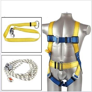 ZLQF Arnés de Escalada Cuerpo con Cinturones de Seguridad para ...