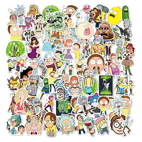 Stickers[100PCS], Adventure Time Vinyls Sticker for Laptop Cars Motorcycle Bicycle Skateboard Luggage Bumper Water Bottles Waterproof Snowboard Game Stations, Best Gifts for Kids, Children