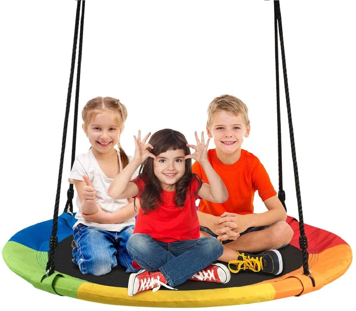 Swing a Ring Toy for Outside with Kids