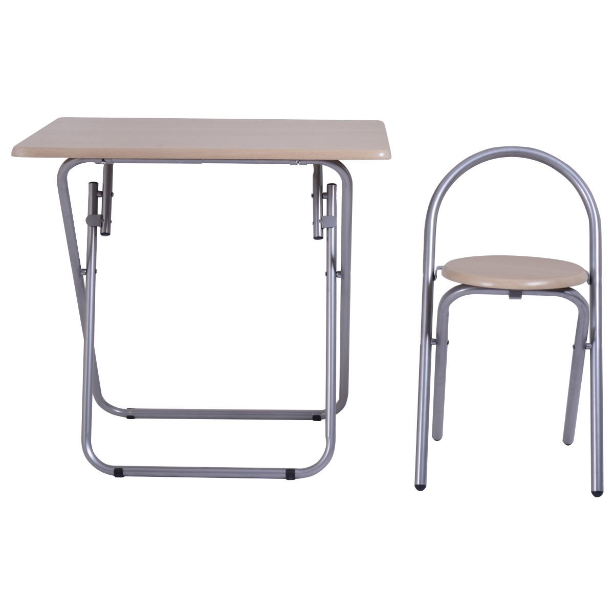 Heaven Tvcz Study Writing Desk Table Chair Set Folding Student Children For Your kids To Study, Write Or Read Home School