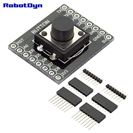 Image result for button shield wemos robotdyn