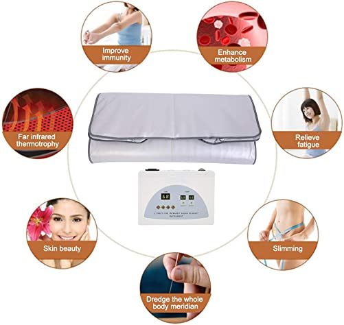 TOPINCN Far Infrared Heat Sauna Blanket