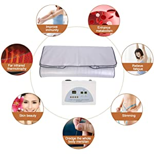 31b8bed46 Amazon.com  Digital Heated Sauna Steamer Blanket