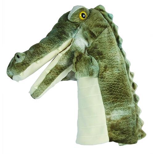 Manhattan Toy Chopper Chums Alligator Hand Puppet 20 5cm