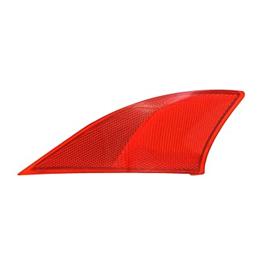TYC 17-5478-00-1 Compatible with LEXUS Left Replacement Reflex Reflector: Automotive