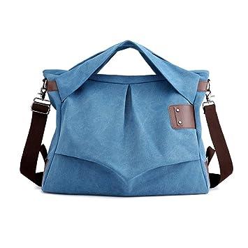 Amazon.com: Dmygo - Bolsa de lona grande para el hombro ...