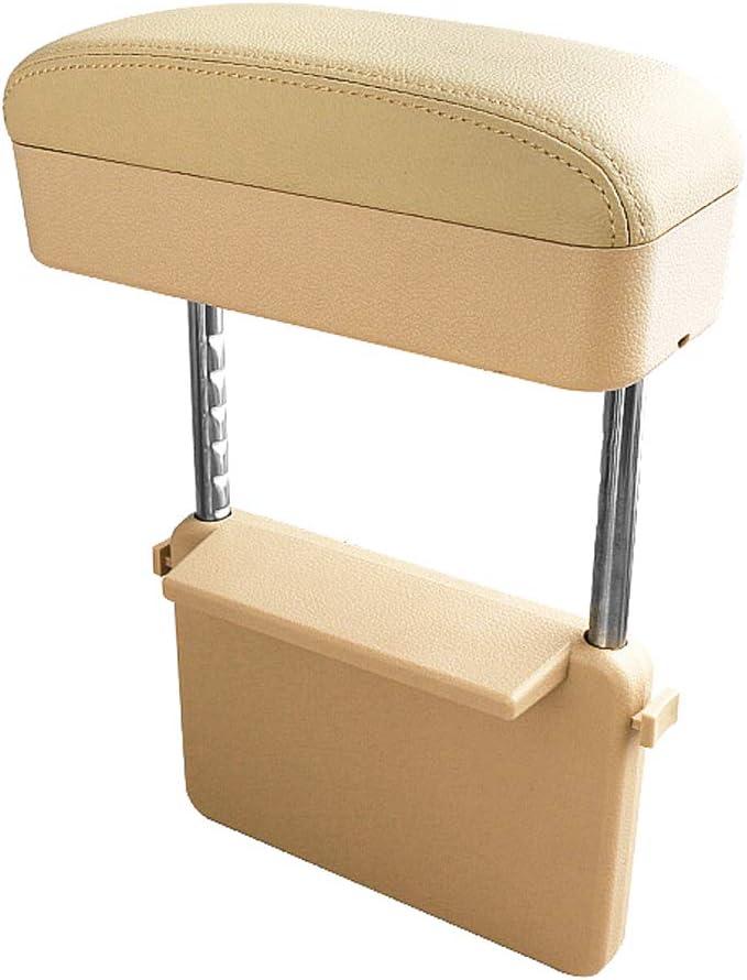 Black CDEFG Car Elbow Support Console Organizer Adjustable Comfortable Wireless Driver Armrest Pads Universal