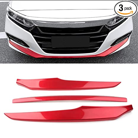 RED CAR BUMPER PROTECTOR  PACK