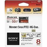 Sony 8GB Memory Stick Pro Duo Card
