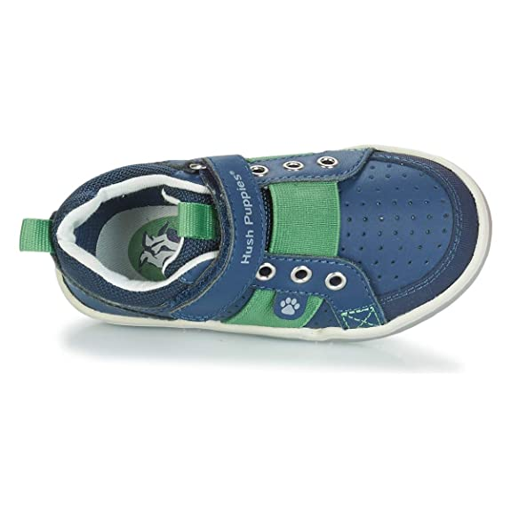 75eb534745fc Amazon.com | Hush Puppies Boys' Hp Jesse Trainers, Blue (Marine 10), 8 UK  8UK Child | Sneakers