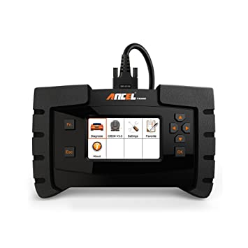 ANCEL FX4000 All System Automotive OBD2 Scanner Car Code Reader Vehicle  OBDII Diagnostic Scan Tool for Check Engine ABS SRS Transmission EPB ESP  SAS
