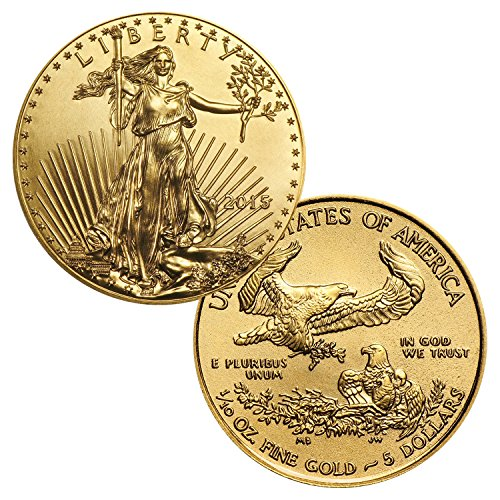 Gold American Eagle 1/10 Ounce Random Date $5 Brilliant Uncirculated