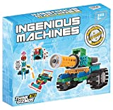ThinkGizmos Robot Kit For Kids – Ingenious Machines Build Your Own Robot Kit – TG633 Awesome Fun Building Set & Construction Toy by reg; (All batteries included)