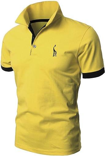 Mentrend-Leisure STTLZMC Polo Shirts Deportiva para Hombre ...