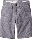 Volcom Big Boys' Gritter Thrifter 18'' Relaxed Fit Chino Short, Silver Birch, 30