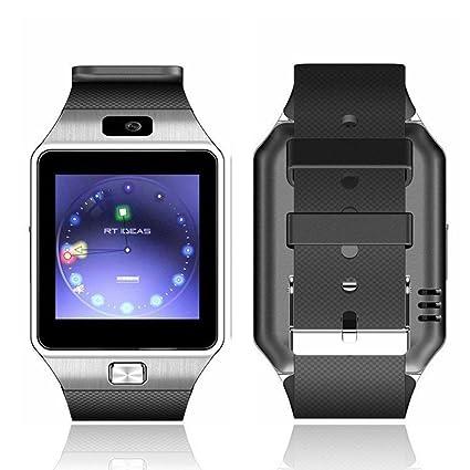 Montre intelligente électronique Bluetooth DZ09 - Appareil portable - Avec emplacement pour carte SIM/TF - Ecran tactile de 2,54 cm - Pour smartphones ...