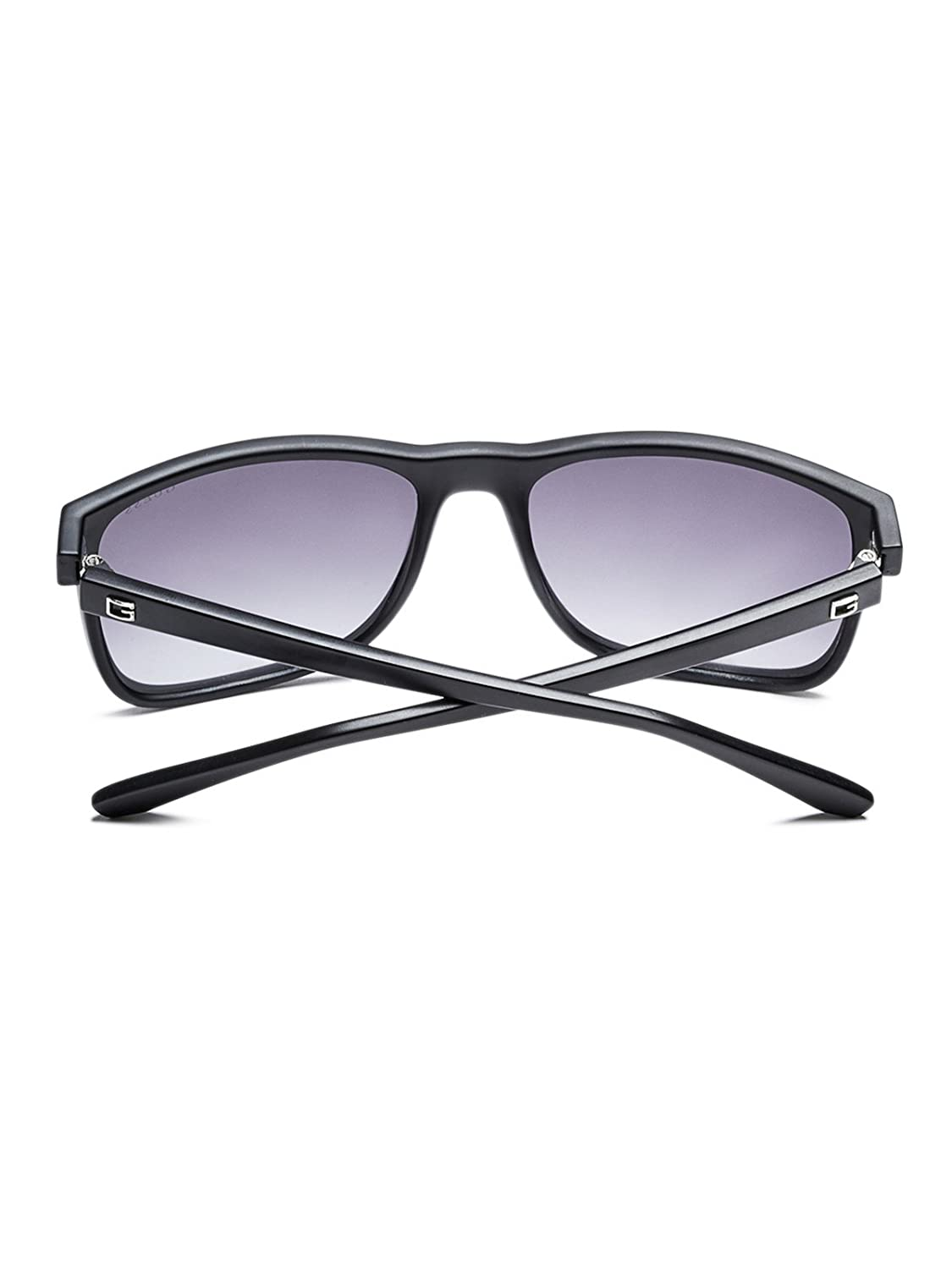 GUESS Factory Mens Matte Plastic Square Sunglasses