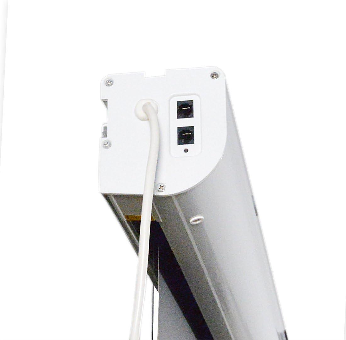 Hivilux Highend Tension Motor Leinwand Dualspann Gain 1 0 Weiss Tuch Aus Professionell Kinofolie 3d 8k 4k Uhd Alu Gehäuse Elektro Eingebaut Tzn Serie Musikinstrumente