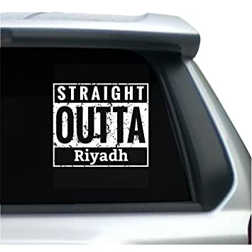 Straight outta riyadh sticker