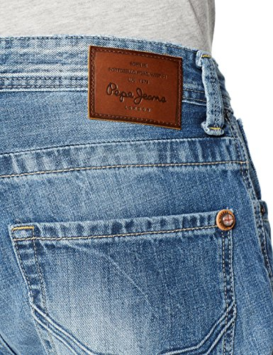 Uomo Jeans Blu Zip N56 Kingston Pepe denim qS6n0v