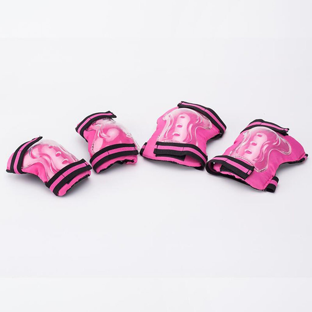 Amazon.com : QZ HOME Child Scooter Protector Six Sets Elbow Protector Bracers Knee Pads Falling Roller Shoes : Sports & Outdoors