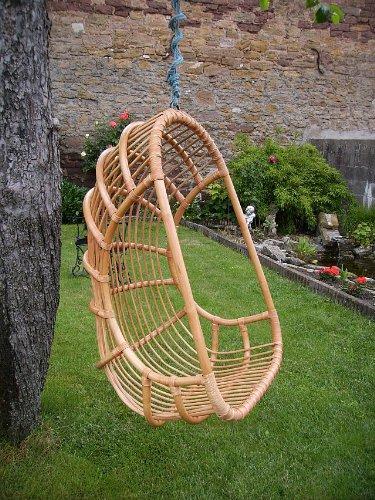 rattan h ngesessel h ngeschaukel h ngekorb aus rattan in der farbe apricot g nstig kaufen. Black Bedroom Furniture Sets. Home Design Ideas