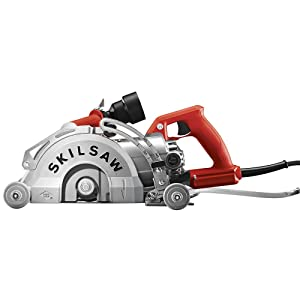 SKILSAW SPT79-00 15-Amp MEDUSAW Worm Drive Saw for Concrete, 7""