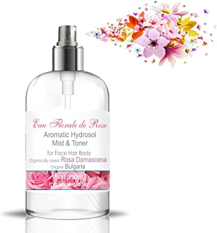 Hidrolato de Rosa Bio 500 ml ○ Agua Floral Organica de Rosa de ...