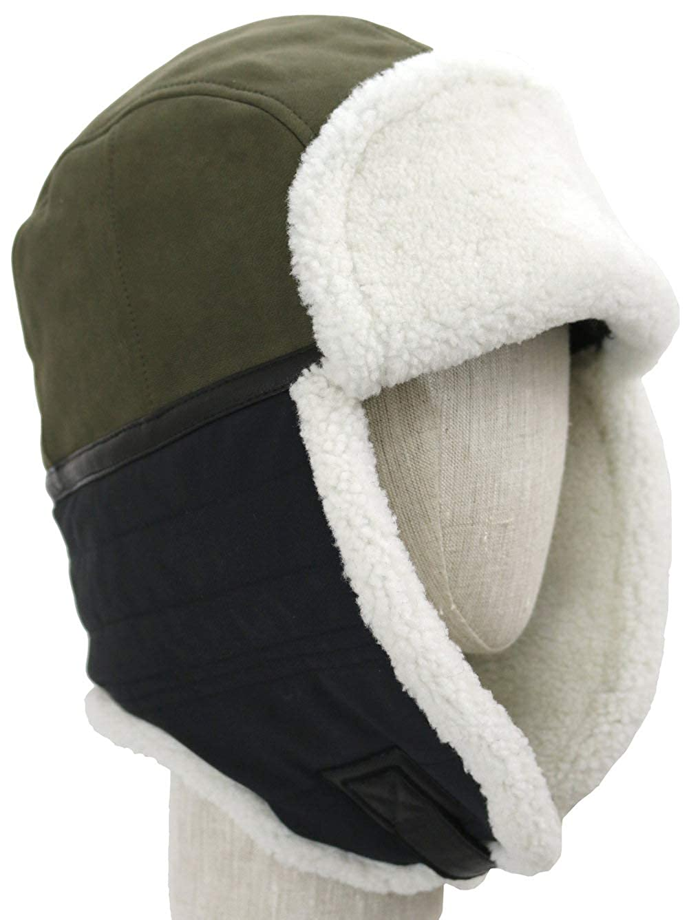 f3fcadb70f9793 UGG Mens Mixed Media Trapper Hat at Amazon Men's Clothing store: