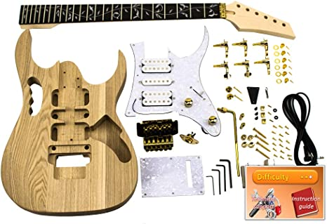 Guitarra en kit JEM Ibanez Gold: Amazon.es: Instrumentos musicales