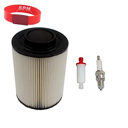 amazon com: spm air filter fuel filter spark plug for 1240482 polaris rzr  800 efi eps ranger 800 rzr s 4 4x4 6x6 crew xp: automotive