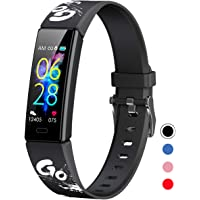 Mgaolo Slim Fitness Tracker for Kids Women,IP68 Waterproof Activity Tracker with Blood Pressure Heart Rate Sleep Monitor…
