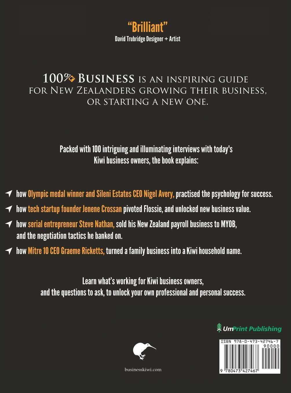 100% Kiwi Business: 9 Kiwi Success Navigators: Ryan L