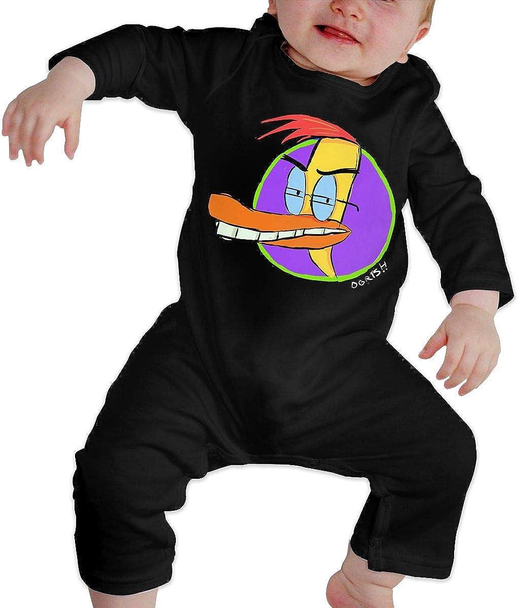 MasakoJMassie Duckman Newborn Baby Long Sleeve Babies Cotton Infant Undershirts Bodysuit