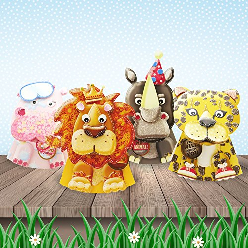 Hunkydory Rocking Box-Pops! - On Safari On the Farm Card Collection - Makes 32 Rocking Cards