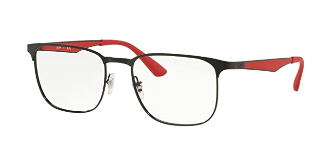 12df8368e74 ... usa ray ban unisex rx6363 eyeglasses black top matte black 54mm ca253  17c23