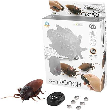 Giant Roach Télécommande Enfants Adultes Trick Animal Cafard infrarouge électrique