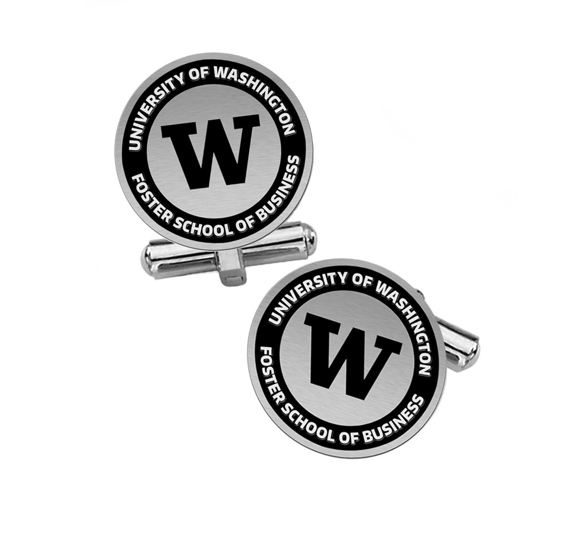 Foster School of Business Cufflinks | University of Washington by College Jewelry