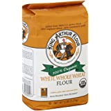 King Arthur Flour, Og, White Whl Wheat, NET WT 5 LBS (2.27 kg)