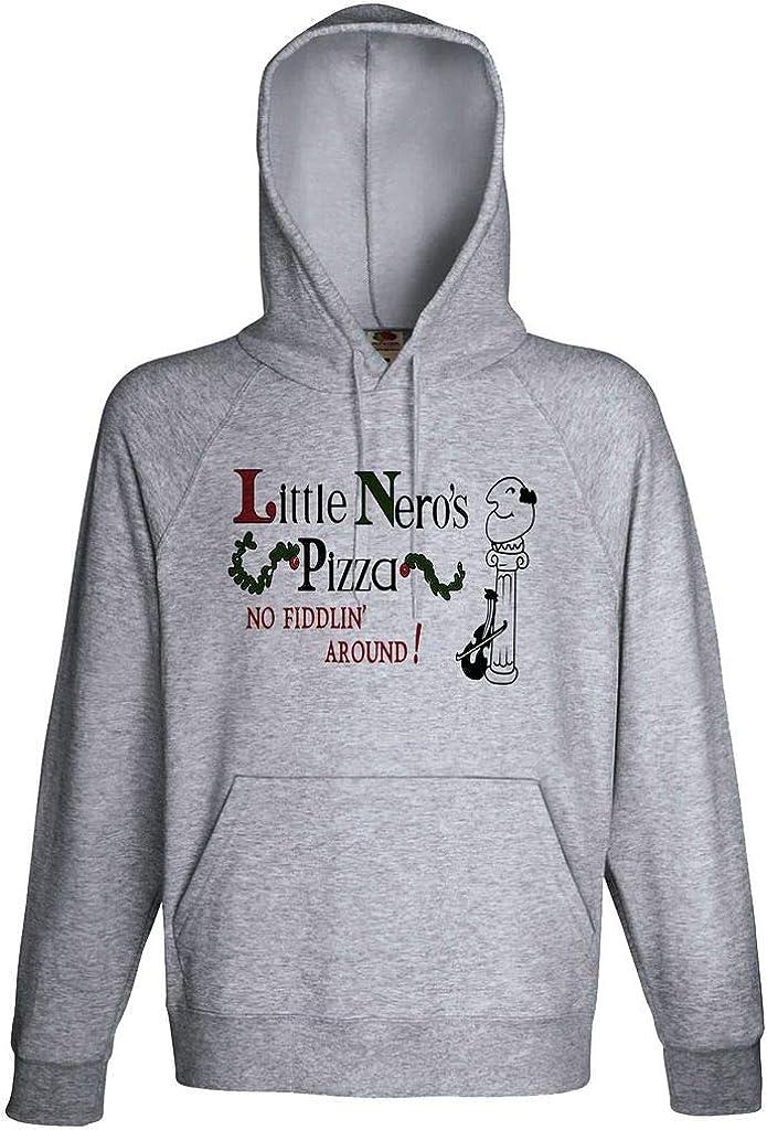 Home Alone Little Nero's Pizza Movie Fan Hoodie Custom Made Hooded Sweatshirt
