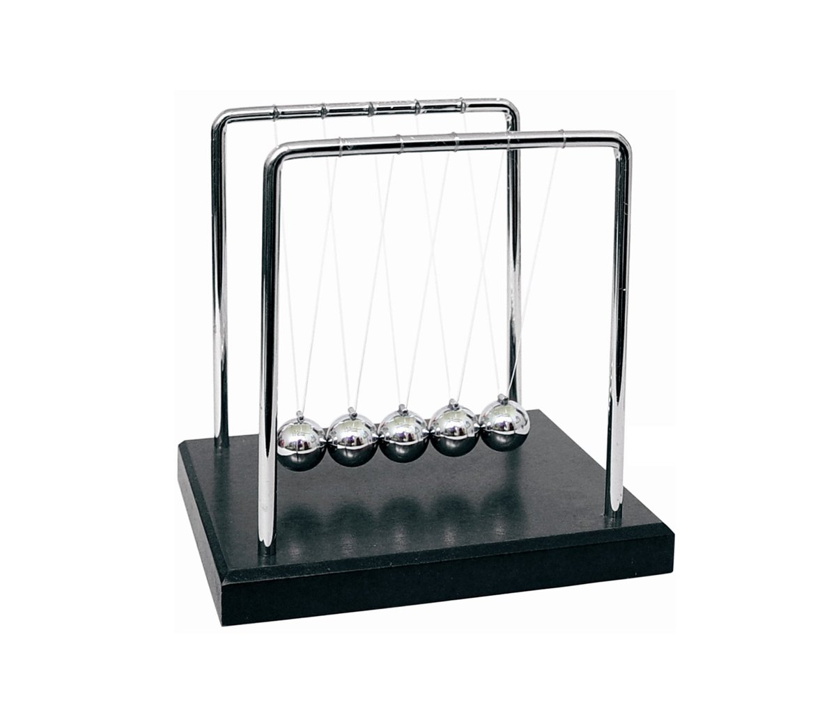 AMPERSAND SHOPS Newton's Cradle Desk Display and Novelty Toy