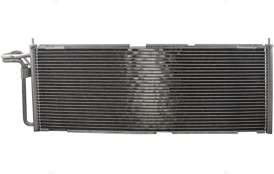Replacement A//C AC Condenser Cooling Assembly Compatible with 1997-2001 Cherokee 4.0L 1998-2001 Cherokee 2.5L 55036595AG