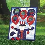 Patriotic Bean Bag Toss Game (1 set)
