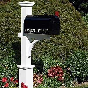 Good Directions Lazy Hill Farm Designs 999204 Canterbury Mailbox Post