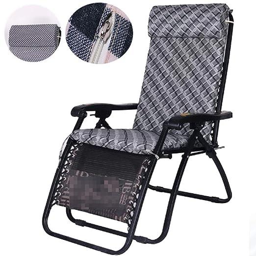 YAOBAO Cojín Chaise Lounge para Interior/Exterior Engrosar ...